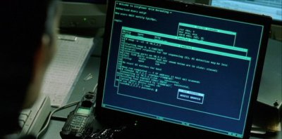 Matrix reloaded's scene (nmap's screenshot)