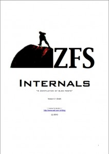 ZFS Internals (PDF version)